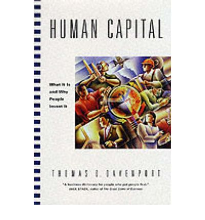 human capital and entrepreneurship Human capital is what makes companies work employee talent engineers,  designs, develops, and sells the products why then do some organizations  forget.