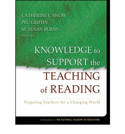 Knowledge to Support the Teaching of Reading