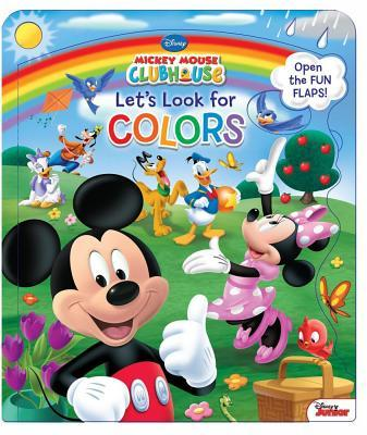 Disney Mickey Mouse Clubhouse Let S Look for Colors