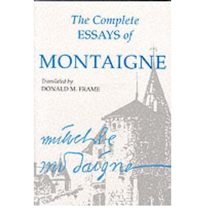 montaignes essay on