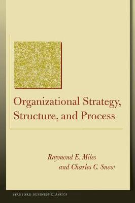 Organizational strategy structure and process book pdf