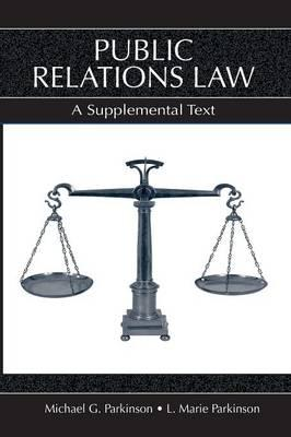 Public Relations Law : A Supplemental Text