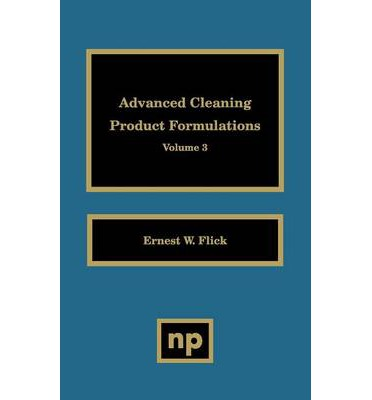 Advanced Cleaning Product Formulations Pdf