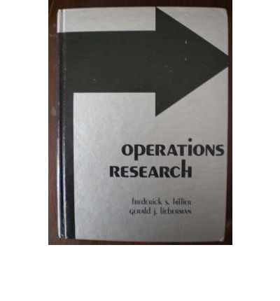 introduction to operations research hillier Introduction to operations research hillier lieberman 9th edition solutions manual.