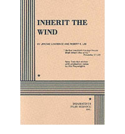 inherit the wind book report Inherit the wind study guide contains a biography of jerome lawrence, robert lee, quiz questions, major themes, characters, and a full summary and analysis.