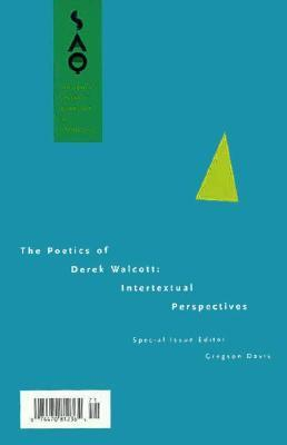 critical essays on derek walcott Call for papers contributions are invited toward a collection of critical essays on the poetry of derek walcott we seek essays that address the various.