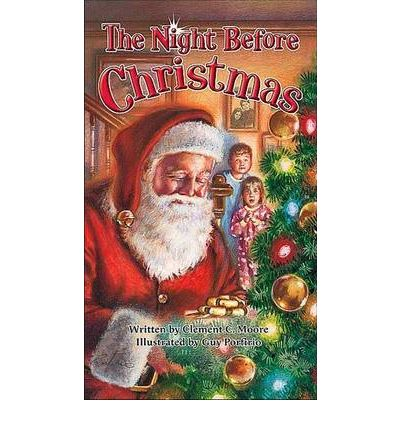 Night Before Christmas  Board book  by Moore, Clement Clarke