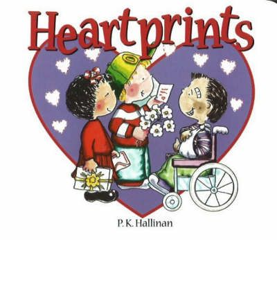 HEARTPRINTS  Board book   Oct 01, 2004  P K HALLINAN
