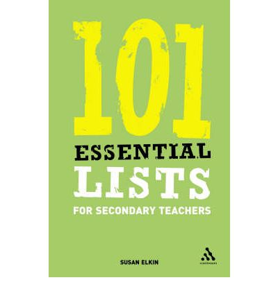 101 Essential Lists for Secondary Teachers