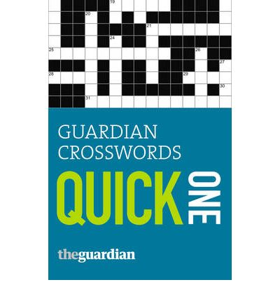 """Guardian"" Crosswords: One"