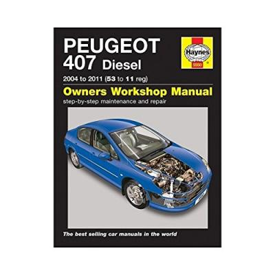 peugeot 407 diesel service and repair manual peter t gill 9780857335500. Black Bedroom Furniture Sets. Home Design Ideas
