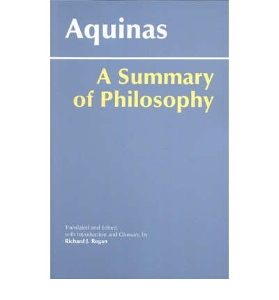 summary of st thomas aquinas treastie on If you review your notes on the history of psychology, there were many  st thomas aquinas is considered a great contributor to psychology with his  it is a lengthy treatise, written in the form of a series of questions, and it contains 3 parts.