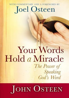 Your Words Hold a Miracle : The Power of Speaking God's Word