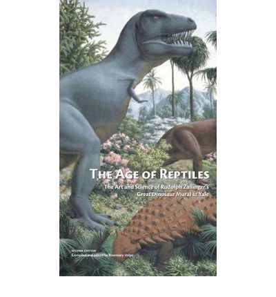The age of reptiles rosemary volpe 9780912532769 for Age of reptiles mural
