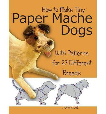 how to make dog with craft paper