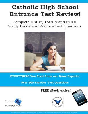Catholic High School Entrance Test Review Blue Butterfly