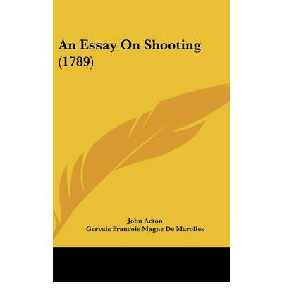 Essay on shooting