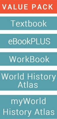 History Alive 10 for the Australian Curriculum & EBookPLUS + Free Student Workbook + World History Atlas + Myworld History Atlas (Card)
