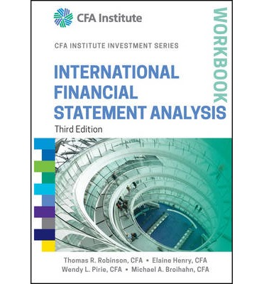 International Financial Statement Analysis Workbook Third Edition
