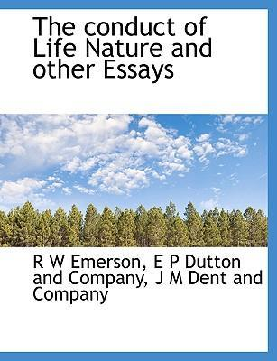 emerson nature and other essays Idealism is a hypothesis to account for nature by other principles than those of carpentry and chemistry emerson: essays.