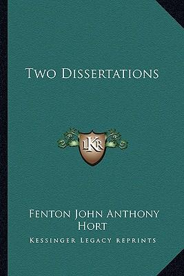 two dissertations Find out how to write chapters of a dissertation now grademiners provide with the best tips on how to create a stunning dissertation chapter.