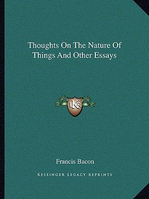 Nature of Thought Paper Essay