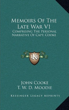 Memoirs of the Late War V1
