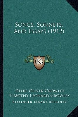 sonnets essays Shakespeare's sonnets william shakespeare shakespeare's sonnets essays are academic essays for citation these papers were written primarily by students and provide critical analysis of.