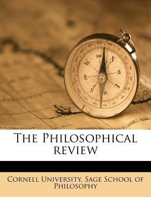 The Philosophical Revie, Volume 28
