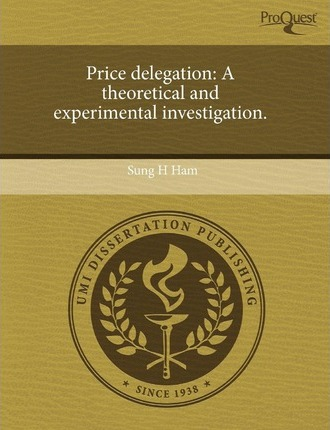 Price Delegation: A Theoretical and Experimental Investigation