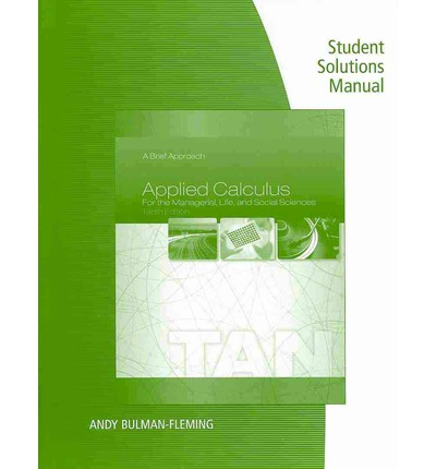 Calculus For Biology Solutions Manual
