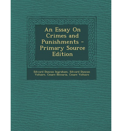 Crime and punishment essays