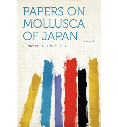 Papers on Mollusca of Japan Volume 1