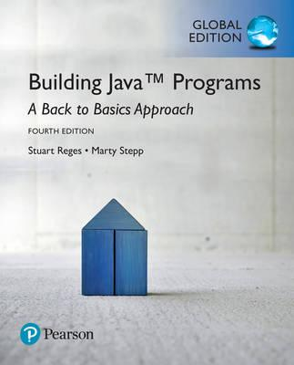 Building Java Programs: A Back to Basics Approach Plus MyProgrammingLab with Pearson eText