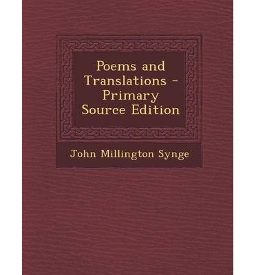 Poems and Translations - Primary Source Edition