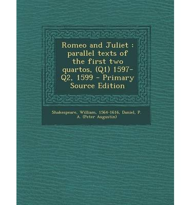 parllel text romeo and juliet pdf