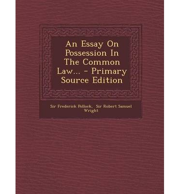 common law 2 essay The aim of this half of the essay is to pursue the clashes over federal  2 in  blackstonian terms, the common law was understood to be a system of customs.
