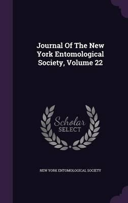 Journal of the New York Entomological Society, Volume 22