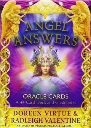Angel Answers Oracle Cards : A 44-Card Deck and Guidebook