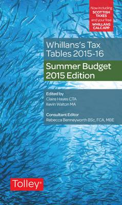 Whillans's Tax Tables 2015-16 2015-16