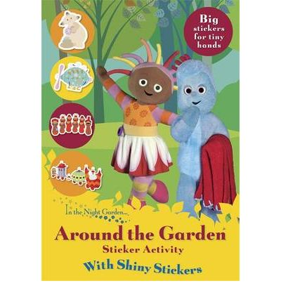 Around the Garden Shiny Stickers