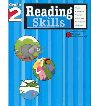 Reading Skills: Grade 2 (Flash Kids Harcourt Family Learning)