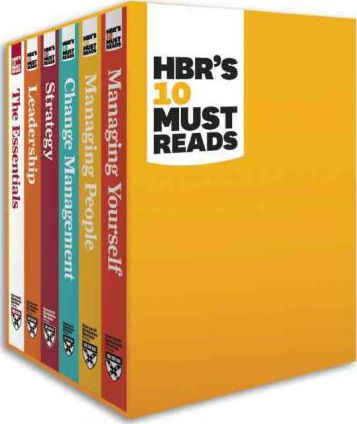 harvard business review leadership books