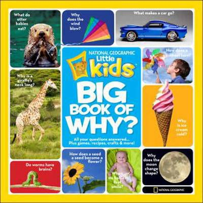 Big Book of Why : All Your Questions Answered Plus Games, Recipes, Crafts & More!