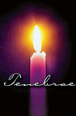 Tenebrae Bulletin 2012, Regular Size (Package of 50)