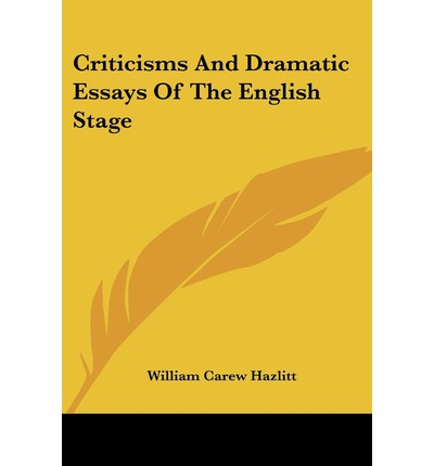 An essay on dramatic poesy