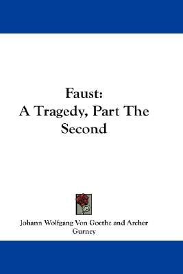 faust a tragedy