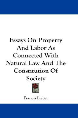 essays about law and society