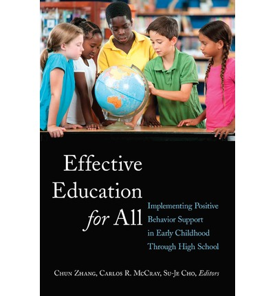 education for all Education for all is a school policy that gives schools a clear definition of inclusive education and what the legal obligations are for supporting students with disabilities.