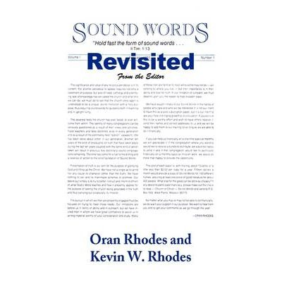 Sound Words Revisited